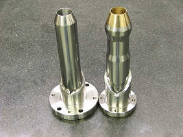 Pieces manufactured by CNC Lathe in Michigan Mold's Machining Department